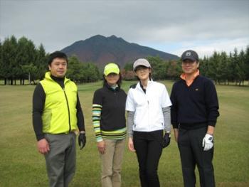ゴルフ満喫!