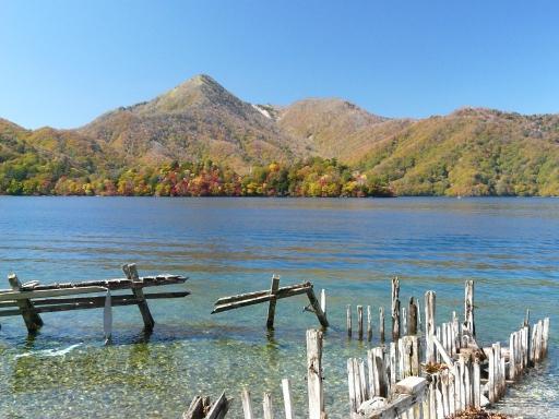 中禅寺湖 イタリア大使館別荘記念公園からの眺め