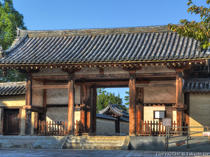 法隆寺東大門