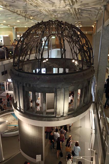 平和記念資料館のドーム