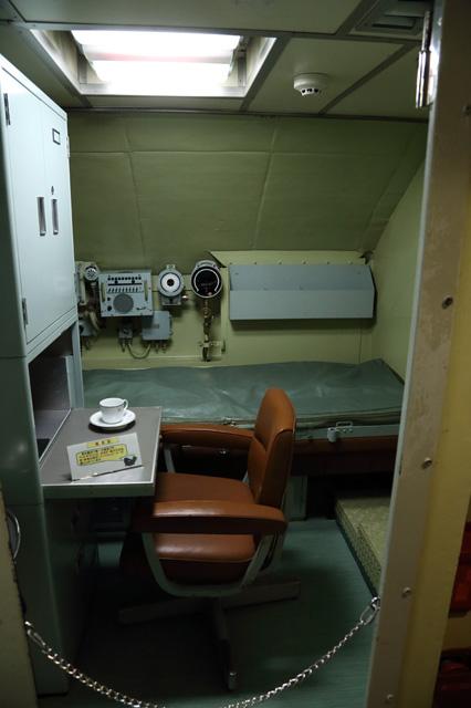 潜水艦あきしおの艦長室