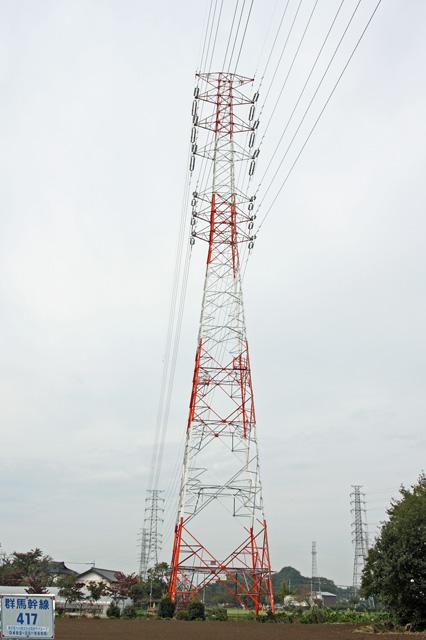 群馬幹線417号鉄塔
