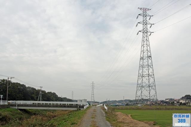 群馬幹線389号鉄塔