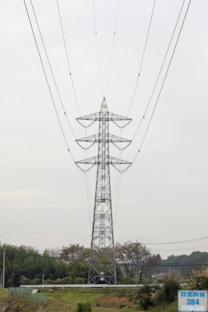 群馬幹線384号鉄塔