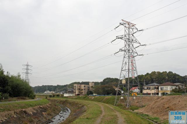 群馬幹線385号鉄塔