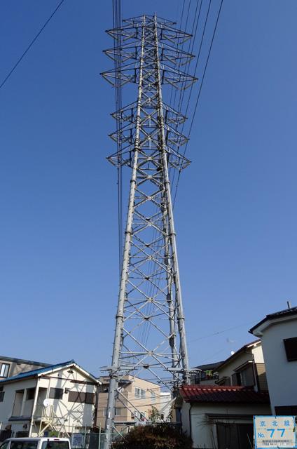 京北線77号鉄塔