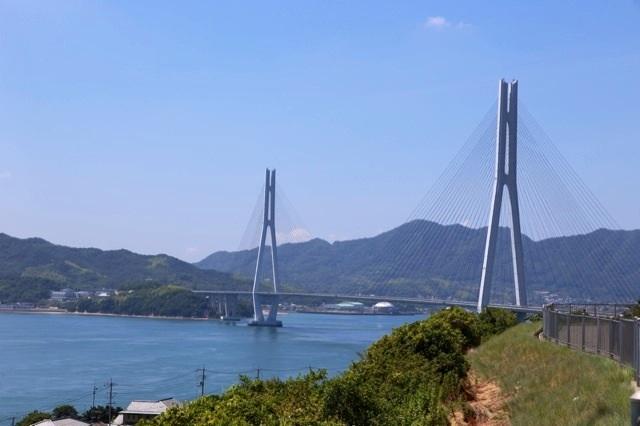 しまなみ海道(多々羅大橋)