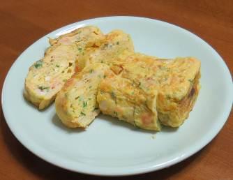 パセリ入り卵焼き