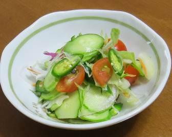 7月の野菜サラダ