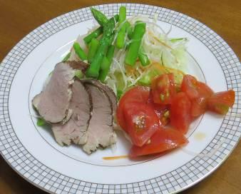 9月の野菜サラダ