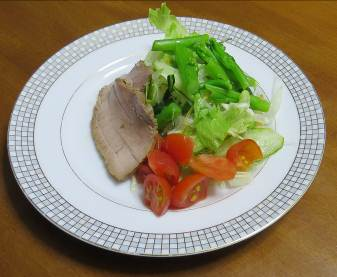 10月の野菜サラダ