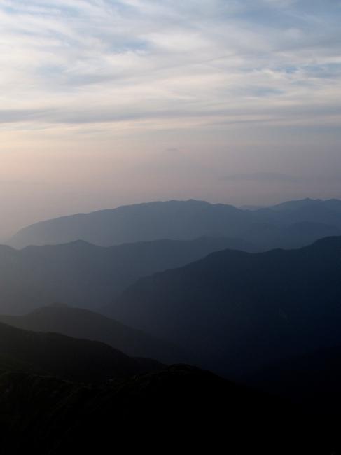 山々ふじ山
