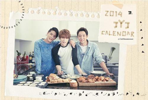 2014JYJカレンダー