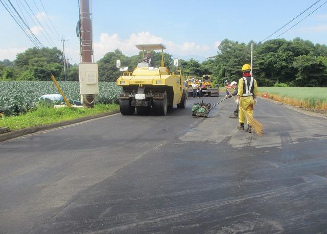 20130802近所の道路工事 (1)