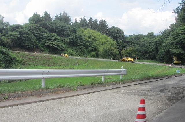 20130802近所の道路工事 (4)