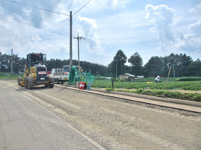 20130802近所の道路工事 (5)