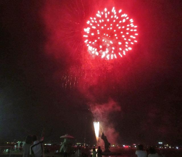 20130813諏訪湖花火 山下夫妻 (19)