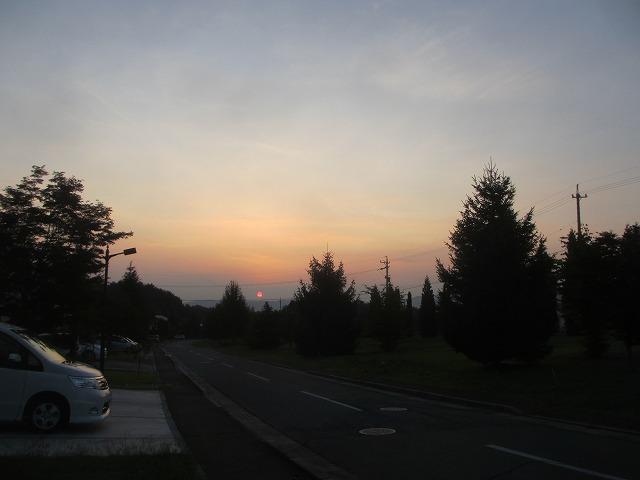 20130813真っ赤な夕陽 (4)