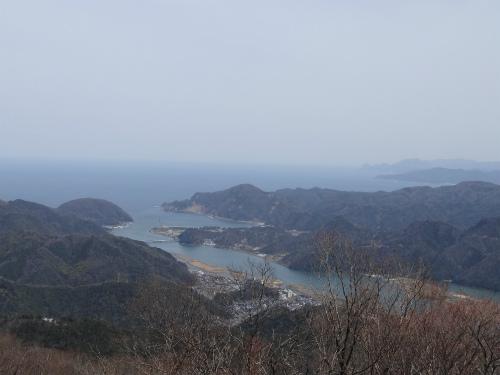 来日岳からの見晴らし