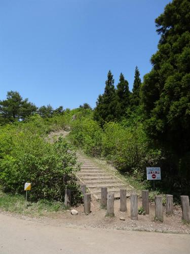 鉢伏山登山口