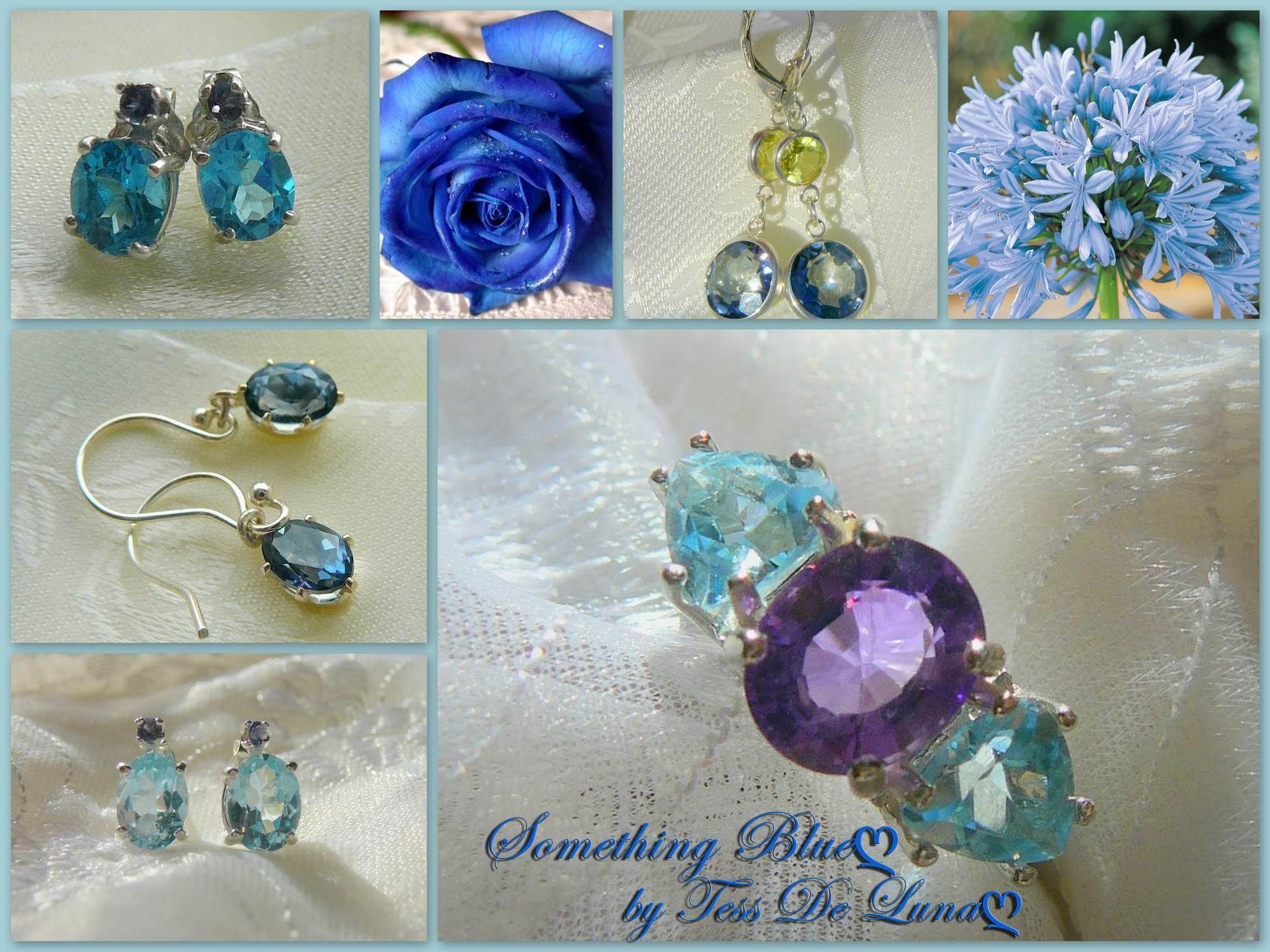 Soething Blue by Tess De Luna