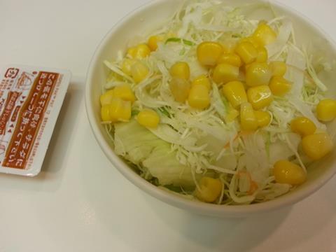 吉野家けんちん汁セット (2)
