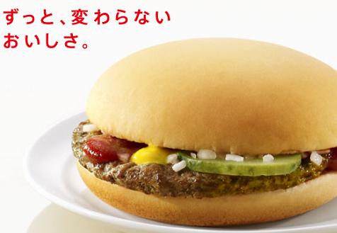 マクドナルドのハンバーガーデー