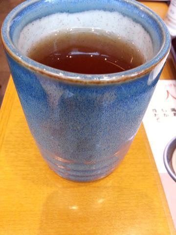 天丼てんやのお茶