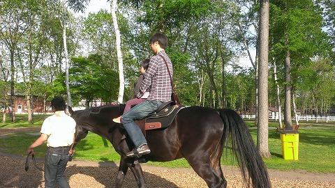馬乗ってきました20130609