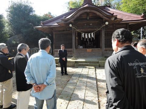 須賀神社 新嘗祭①
