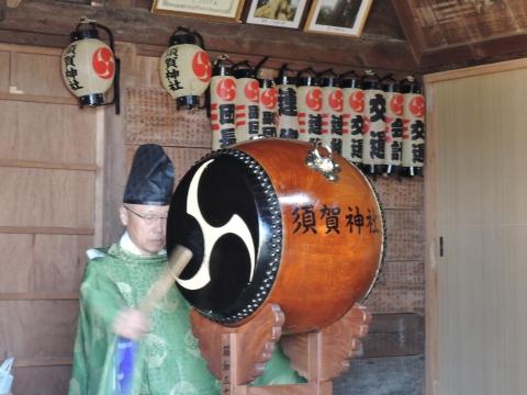 須賀神社 新嘗祭②