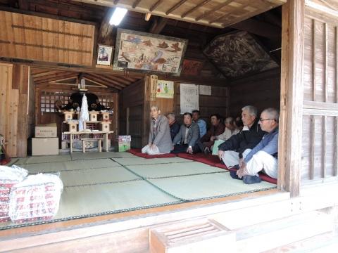 須賀神社 新嘗祭④