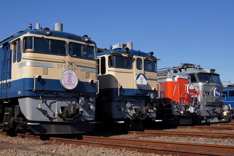 EF65-501 EF65-1115 DD51-895 EF510-509