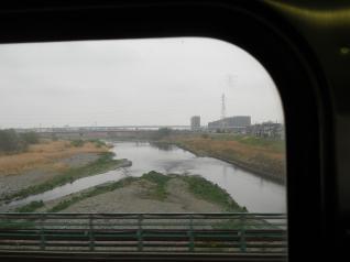 115系から多摩川横断