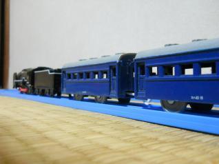 C62+旧形客車