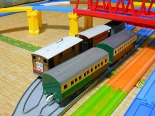 トビーと緑の客車