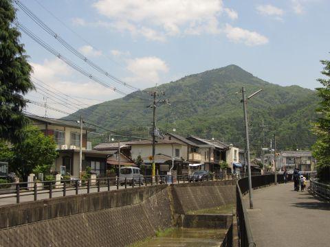 音羽川と比叡山