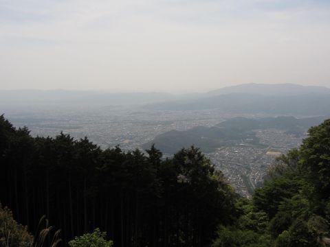 ケーブル比叡駅からの眺め
