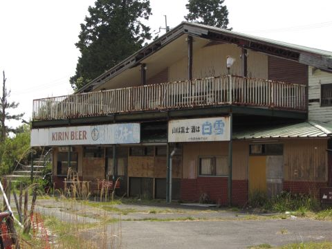 比叡山人工スキー場跡