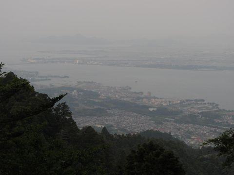 比叡山より琵琶湖を望む