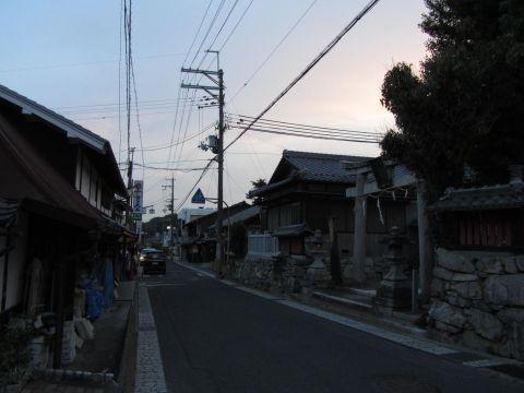 造り道・榊神社付近