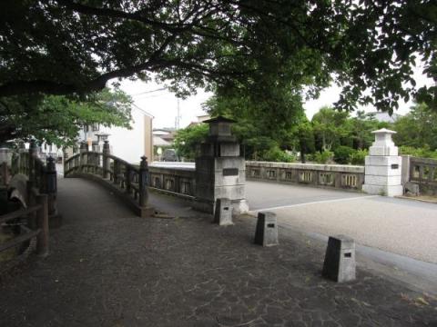 南大手橋と三条大橋