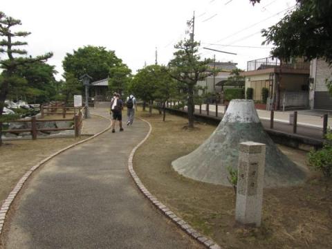 歴史を語る公園