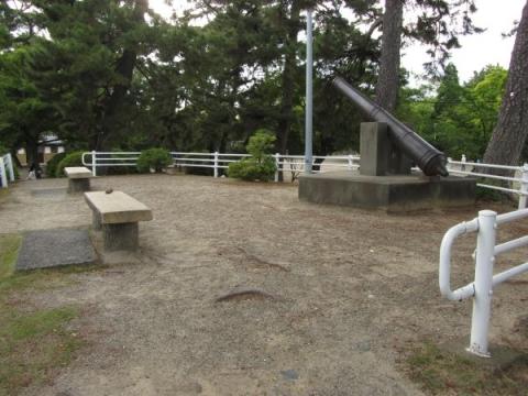 桑名城辰巳櫓跡