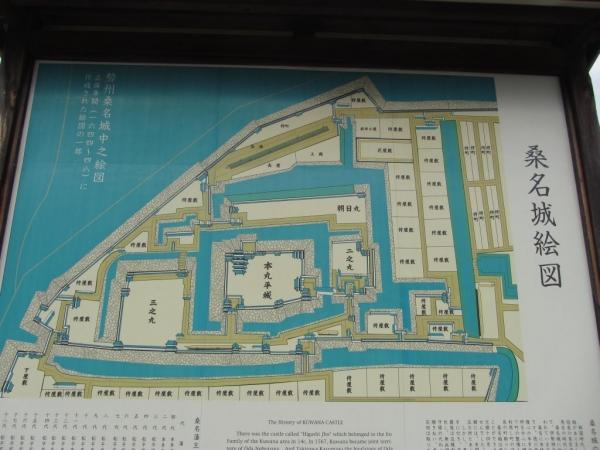 桑名城絵図