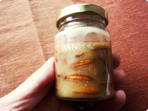 蜂蜜漬けアーモンド2