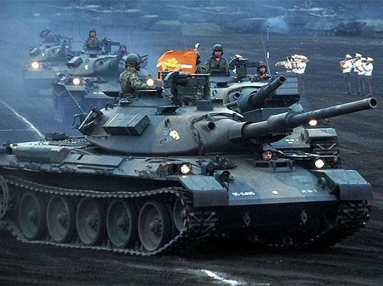 陸上自衛隊、戦車の数を400両→300両に削減