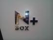 N BOX+ エンブレム(施工後)