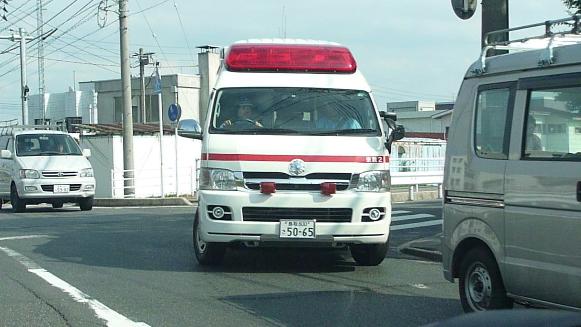 130724 米子警察署ー救急車(1)