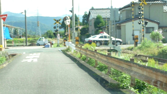131017 仕事先鳥取県警察パトカー(4)(1)